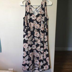 Loft Plus Floral Dress